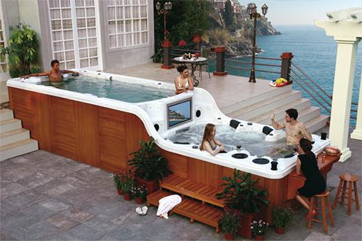 Jacuzzi Terrasse Home Ideen