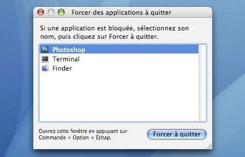 Mac Osx 3 Methodes Pour Forcer A Quitter Une Application Blogeek