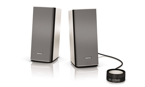 bose companion 20 nouveaux haut parleurs blogeek. Black Bedroom Furniture Sets. Home Design Ideas