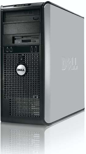 dell optiplex 755 un ordinateur de bureau pour professionel blogeek. Black Bedroom Furniture Sets. Home Design Ideas