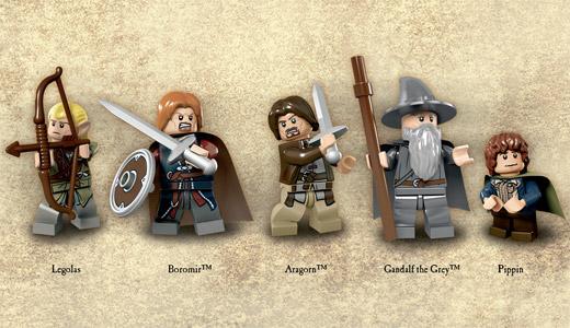 Le Seigneur des Anneaux en LEGO