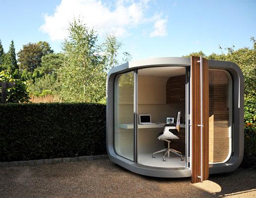 Officepod votre bureau dans le jardin eek