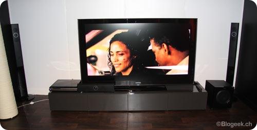 photos live t l vision 3d samsung serie 470 et autres. Black Bedroom Furniture Sets. Home Design Ideas