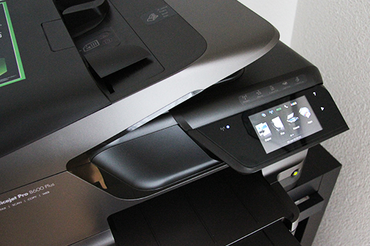 test imprimante hp officejet pro 8600 plus blogeek. Black Bedroom Furniture Sets. Home Design Ideas